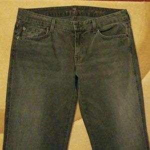 7 For All Mankind Jean's A Pocket 31 Bootcut
